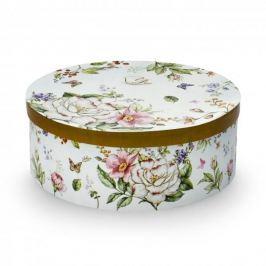 Filiżanki do kawy i herbaty porcelanowe ze spodkami DUO JULIUS FLOWER BIAŁE 200 ml 2 szt.