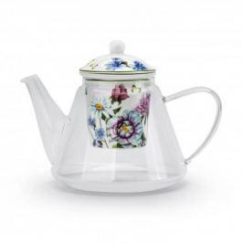 Dzbanek do herbaty szklany z zaparzaczem DUO LINDA 1,2 l