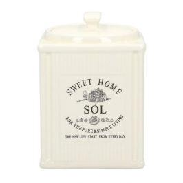 Pojemnik ceramiczny na sól PASKI SWEET HOME II 0,7 l