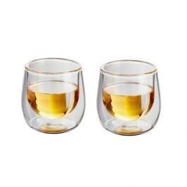 Szklanki termiczne do napojów z podwójną ścianką szklane JUDGE TUMBLERS 250 ml 2 szt.