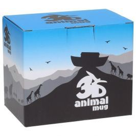 Kubek porcelanowy GADGET MASTER 3D ANIMAL HORSE 400 ml
