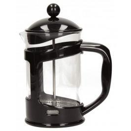 French press / Zaparzacz do kawy tłokowy szklany FLORINA BIG CZARNY 0,8 l