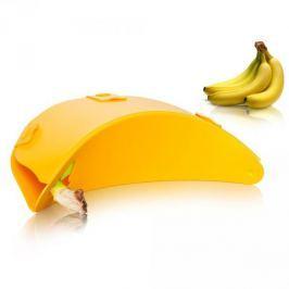 Pojemnik plastikowy na banany TOMORROWS KITCHEN ŻOŁTY