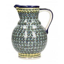 Dzbanek ceramiczny na wodę GU-40 DEK. DU1 Bolesławiec 1,8 l