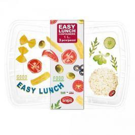 Pojemniki na żywność plastikowe SNIPS EASY LUNCH PASTA 3 szt.