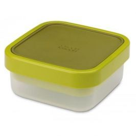 Lunch box / Pojemnik na sałatki plastikowy dwukomorowy JOSEPH JOSEPH GO EAT ZIELONY 0,7 l