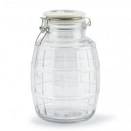 Słoik z pokrywką na ciastka szklany FLORINA NADOBA 2,8 l