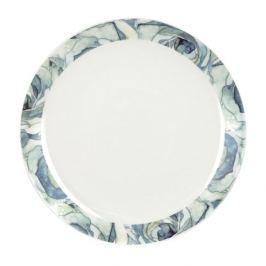 Talerze obiadowe płytke porcelanowe ASHDENE  BLOOM BEAUTIUL BIAŁE 2 szt.