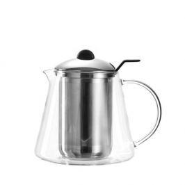 Dzbanek do herbaty szklany z zaparzaczem LEONARDO TISANA 1,5 l
