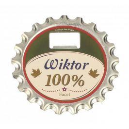 Otwieracz do piwa i butelek ze stali nierdzewnej z magnesem PAN DRAGON WIKTOR FACET