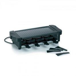 Grill elektryczny raclette ze stali nierdzewnej KELA FLUELA CZARNY 1200 W