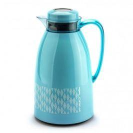 Termos konferencyjny do kawy i herbaty plastikowy FLORINA PASTEL NIEBIESKI 1 l