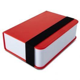 Lunch box plastikowy BLACK BLUM BOOK CZERWONY 0,40 l