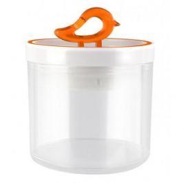 Pojemnik plastikowy na żywność VIALLI DESIGN LIVIO POMARAŃCZOWY 0,4 l