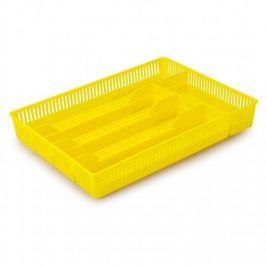 Organizer / Wkład do szuflady na sztućce plastikowy BENTOM AŻUROWY MIX KOLORÓW 31 x 22,5 cm