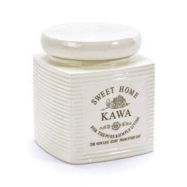 Pojemnik na kawę ceramiczny SWEET HOME II PASKI KREMOWY 0,7 l