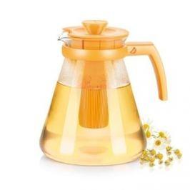 Dzbanek do herbaty szklany z zaparzaczem TESCOMA TEO ŻÓŁTY 1,7 l