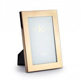 Ramka na zdjęcia szklana DUO LISA MIEDZIANA 13 x 19 cm