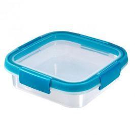 Pojemnik na żywność plastikowy CURVER SMART FRESH KWADRATOWY NIEBIESKI 0,6 l