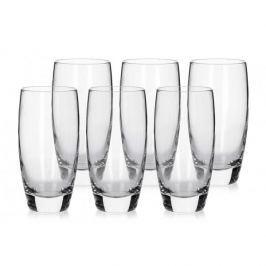Komplet 6 szklanek do napojów LONG GLASS 350 ml