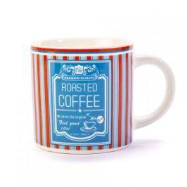 Kubek ceramiczny boss z napisem DUO ALL COOL COFFEE BLUE 400 ml