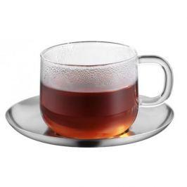 Filiżanka do kawy i herbaty szklana ze spodkiem WMF SENSITEA 250 ml