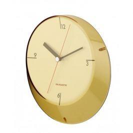 Zegar ścienny BUGATTI GLAMOUR ŻÓŁTY 33 cm