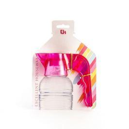 Nalewak / Dozownik do butelek plastikowy EXCELLENT HOUSEWARE RÓŻOWY