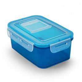 Pojemnik na żywność plastikowy BRANQ QLOCK EQUAL NIEBIESKI 1 l