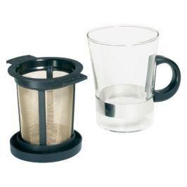 Kubek z zaparzaczem szklany FINUM GLASS 200 ml