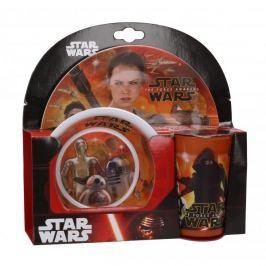 Naczynia dla dzieci plastikowe DISNEY STAR WARS 3 szt.