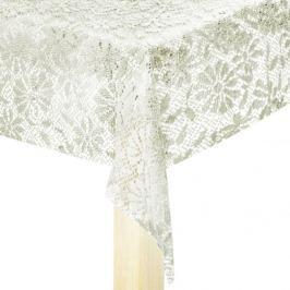 Cerata na stół z PCV OPENWORK KREMOWA 140 x 240 cm