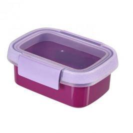 Pojemnik na żywność plastikowy CURVER SMART TO GO PROSTOKĄTNY FIOLETOWY 0,2 l