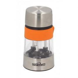 Młynek do pieprzu i soli stalowy ręczny 3w1 OPTIMUM ELEGANT