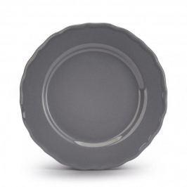 Talerz obiadowy płytki ceramiczny JULIETTE SZARY 27,5 cm