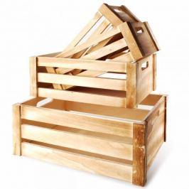 Skrzynki drewniane ozdobne MONDEX AZALIA 4 szt.