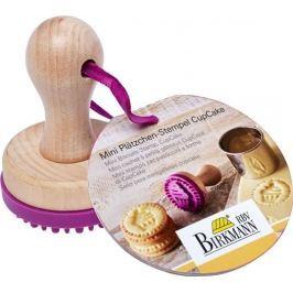 Stempel do ciastek mini drewniany BIRKMANN CUPCAKE