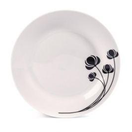 Talerz deserowy ceramiczny VANESSA BIAŁY 19 cm