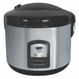 Garnek do gotowania ryżu elektryczny plastikowy ADLER NIMDOX CZARNY 1000 W