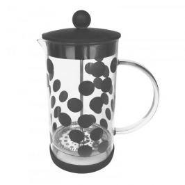 French press / Zaparzacz do kawy tłokowy szklany ZAK DESIGN BOLL CZARNY 0,35 l