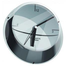 Zegar ścienny BUGATTI GLAMOUR CHROMOWANY 33 cm