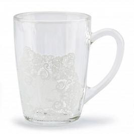 Kubek szklany / Szklanka FLORINA KORONKA 330 ml