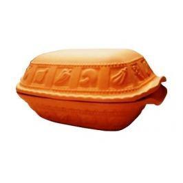 Garnek rzymski gliniany z pokrywką PATAKI KERAMIA GAJA 7 l