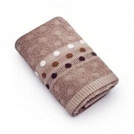 Ręcznik łazienkowy do rąk bawełniany MISS LUCY ROTUNDA BEŻOWY 30 x 50 cm