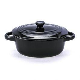 Kokilka / Naczynie do zapiekania ceramiczne AXENTIA MINI CZARNE 0,25 l