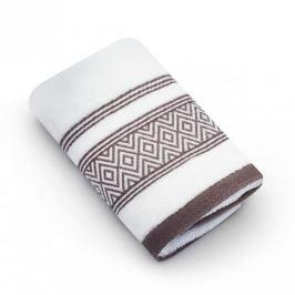 Ręcznik łazienkowy do rąk bawełniany MISS LUCY SANNY BIAŁY 30 x 50 cm