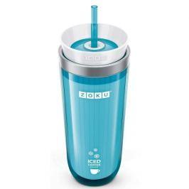 Kubek termiczny plastikowy ZOKU ICED COFFEE MAKER TURKUSOWY 260 ml