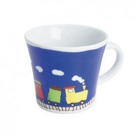 Naczynia dla dzieci porcelanowe KAHLA KIDS POCIĄG GRANATOWE (3 el.)