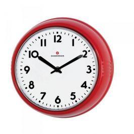 Zegar ścienny ZASSENHAUS RETRO CZERWONY 24 cm
