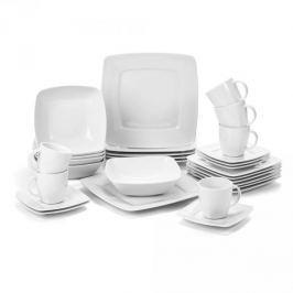 Serwis obiadowo - kawowy porcelanowy LUBIANA VICTORIA na 6 osób (30 el.)